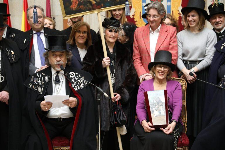 La Alegre Cofradía del Entierro de la Sardina despide el Carnaval de La Prospe