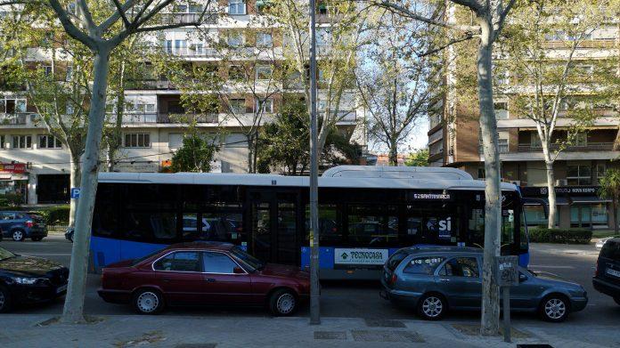 autobuses barrio prosperidad