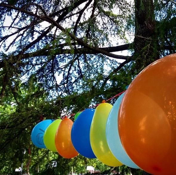 Parque de Berlín: fiestas de cumpleaños primaverales