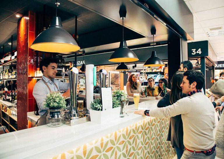El Mercado de Prosperidad, un rincón gastronómico de primera calidad