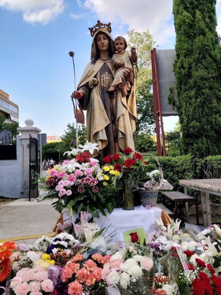 La Virgen del Carmen: tradición en el Barrio Prosperidad