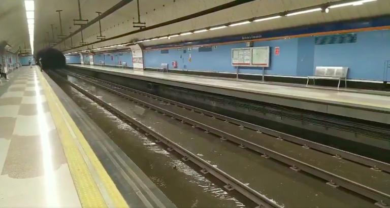 Regresa la calma a 'La Prospe' y a todo Madrid tras la tormenta