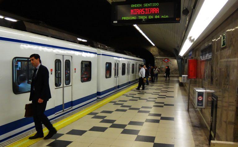 La estación de metro Príncipe de Vergara reabre este lunes