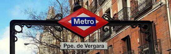 La parada de metro Príncipe de Vergara cerrará por obras