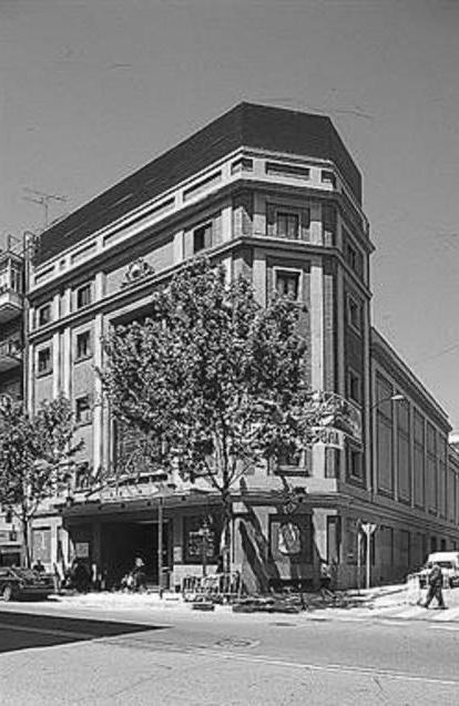 Antiguo cine López de Hoyos