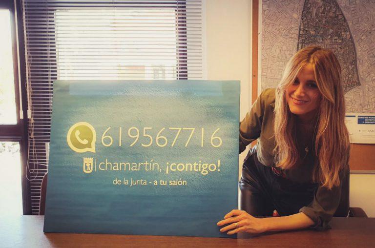 'Chamartín ¡Contigo!', una campaña para fomentar la proximidad entre ciudadanos