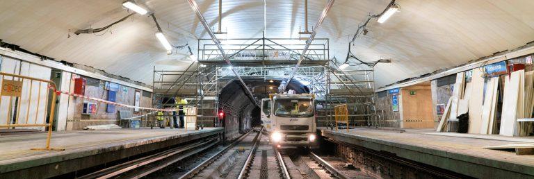La línea 4 de Metro reabrirá completamente el próximo 10 de marzo tras las obras de renovación