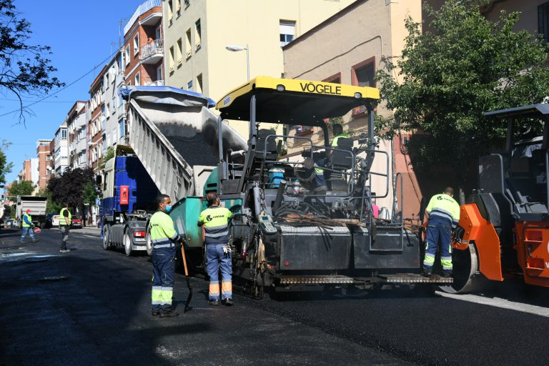 Operación Asfalto 2021 en Chamartín: estas son las calles afectadas de nuestro distrito